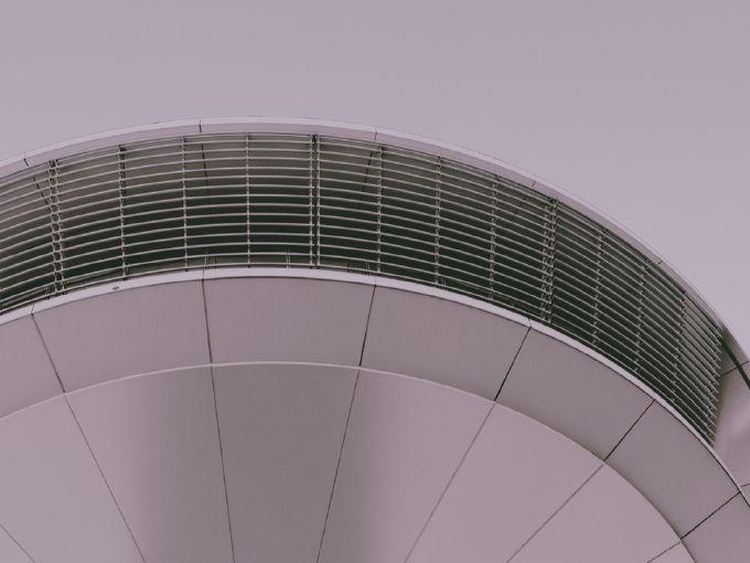 Une interprétation photographique des formes architecto-musicales de Hambourg